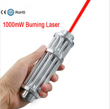 Wholesale JSHFEI  Super red Laser Pointers Flashlight Combustion Lgnition / Cutting /Irradiate 5000m laser pen red