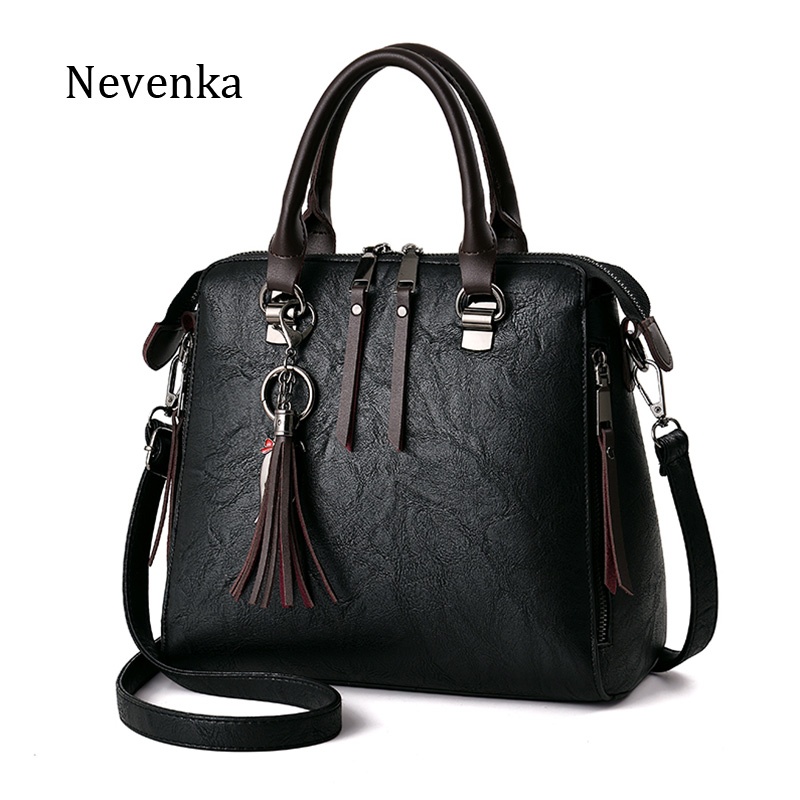 Nevenka 2018 Fashion Handbags for Women Famous Brands Pu Leather Bags Female Shoulder Bags Casual Tote