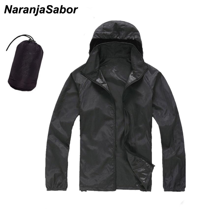 NaranjaSabor 2020 Men's Quick Dry Skin Jackets Women Coats Ultra-Light Casual Windbreaker Windproof Men Brand Clothing 15 Colors