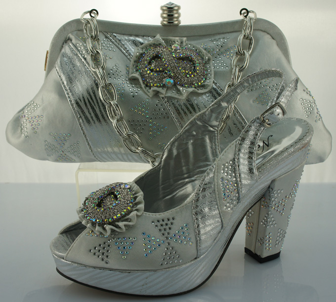 ФОТО Women Shoes And Bags Set Fashion African Italian Design Shoes And Matching Bags Set For Party And Wedding ME2202