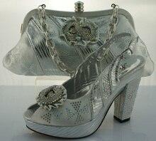 Frauen Schuhe Und Taschen Set Mode African Italienische Design Schuhe Und Passende Taschen Set Für Party Und Hochzeit ME2202