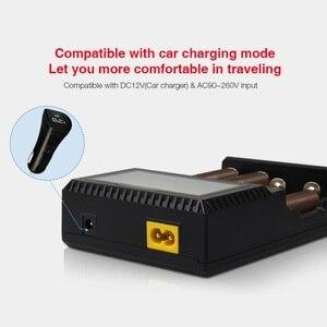 Image 4 - Miboxer C4 LCD Smart Batterie Ladegerat fur Li Ion IMR ICR LiFePO4 3.7v 18650 14500 26650 21700 AAA Batterien 100 800mah 1.5A