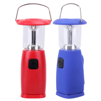 6 LED Dynamo Solar Camping Light Hand Crank Outdoor Lantern Light Lamp For Camping Tent