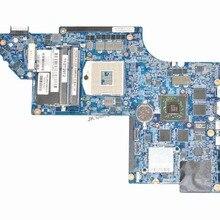 Для hp pavilion DV6 DV6-6000 Материнская плата ноутбука 705188-001 S989 HM65 HD 7690 м 1 ГБ GPU MB тестирование Быстрая