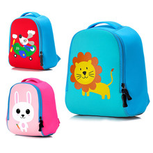 Children Cartoon Plush Toys Backpack Cute Animals Styles Soft School Bag for Kids Infant Baby Girls