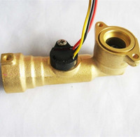 Water flow sensor Hall switch sensor boiler flowmeter for Water heaters drinking fountains G1/2 0.3-10l/min 2.0MPa DC3-24V
