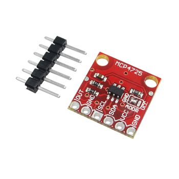 10 piezas MCP4725 I2C DAC Módulo de adaptación Placa de desarrollo