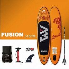 Aqua Marina Fusion 315*76*15 ซม.Stand Up Paddle Board Inflatable Sup Boardกระดานโต้คลื่น