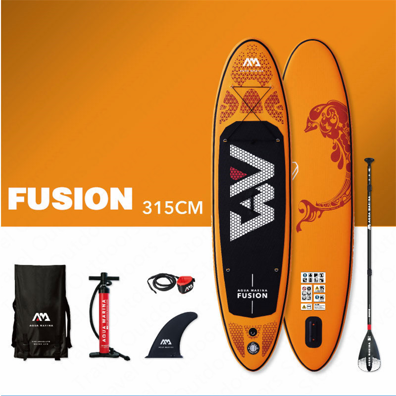 Aqua Marina Fusion 315*76*15cm Stand Up Paddle Board Inflatable Sup Board SurfboardSurfing   -