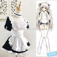 Classic Lolita Maid Uniform Dress Sissy Maid Cosplay Costume Halloween Costumes