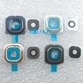 Usted Kit Original Nueva Cámara de Visión Trasera de Cristal Cubierta de La Lente con la etiqueta engomada adhesiva para samsung galaxy s6 edge g925 g9250 reemplazo