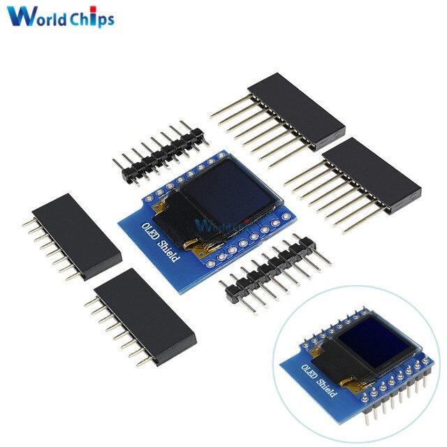 US $2 42 48% OFF|Mini 0 66 Inch 64X48 OLED Shield for WeMos D1 IIC/I2C  SSD1306 MINI ESP32 Oled Module 3 3V 0 66