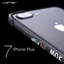 Ultra Thin Metal Bumper for iPhone 7 7 Plus Street Style Aluminum Frame Shockproof Phone Cases Protective Cover Coque Capinha