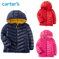 Carters winter down jacket parka for girls boys coats 90% down jackets children clothing kids outerwear baby snowsuit 243I053