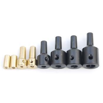 Jt0 uchwyt wiertarski adapter korbowód tuleja wału stalowy łącznik miedziany 2 3mm 3 17mm 4mm 5mm 6mm 8mm tanie i dobre opinie Elektryczne