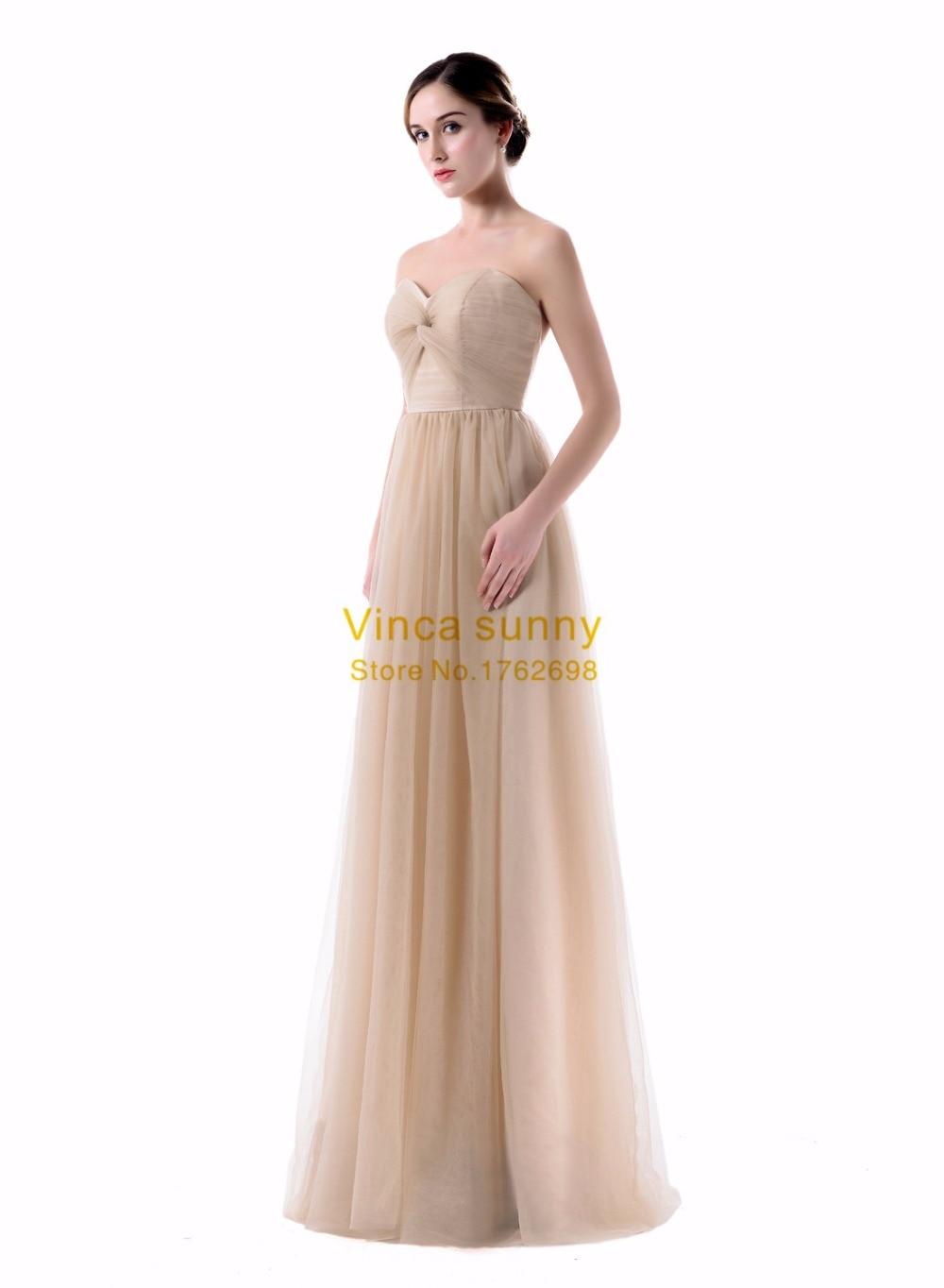 Vinca sunny Elegant Women Chiffon V Neck Bridesmaid Dresses cheap vestido  festa casamento longo madrinha dress for bridesmaid -in Bridesmaid Dresses  from ... 52eaedc1df3a