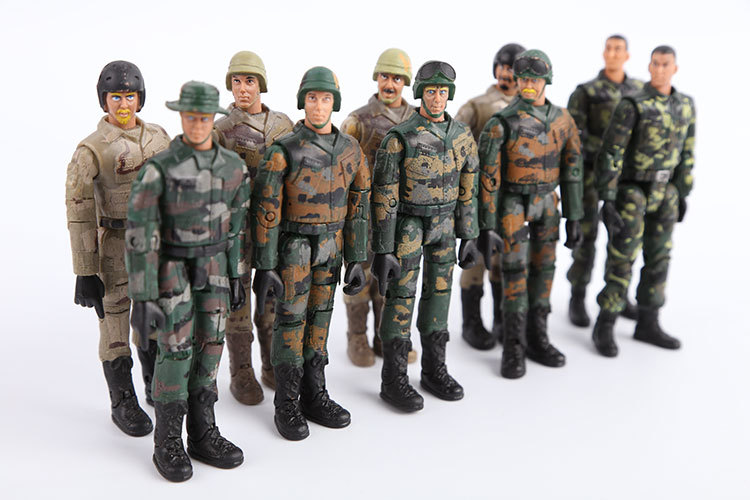 Best Toy And Model Soldiers For Kids : Hot starz army navy airman soldier military models pvc