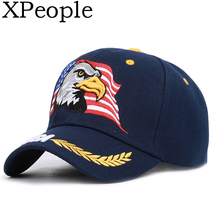 XPeople Patriotic American Flag Design Baseball Cap USA 3D Embroidery