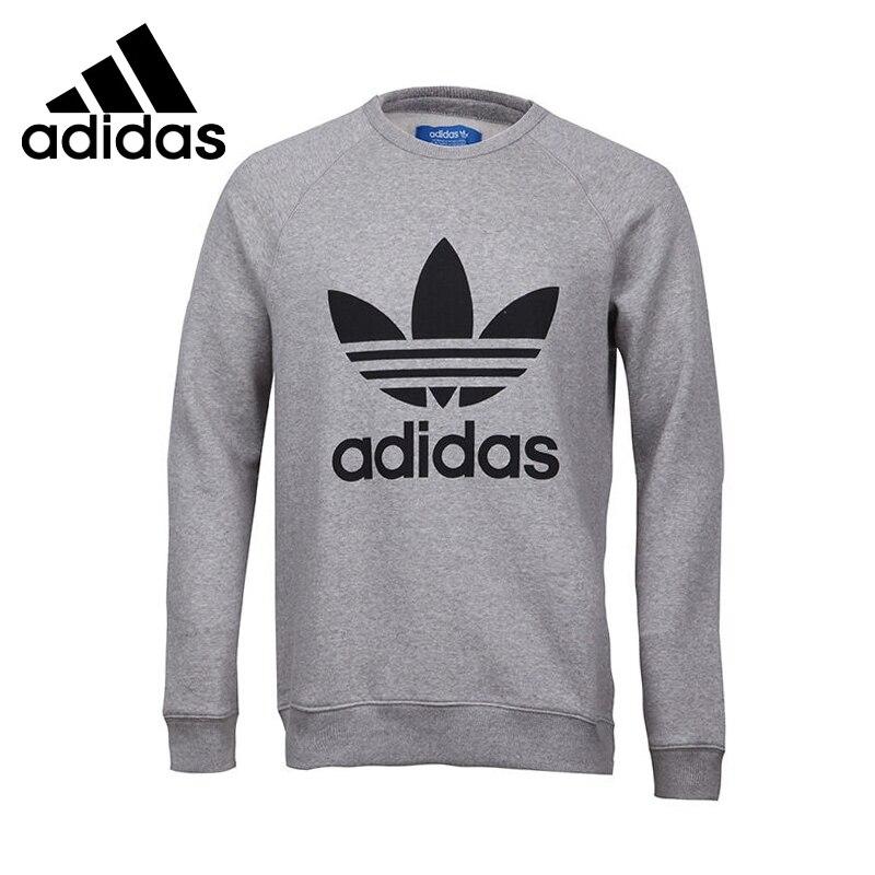 Original New Arrival Adidas Originals TREFOIL CREW Men's Pullover Jerseys Sportswear original new arrival 2017 adidas originals street graph cr men s pullover jerseys sportswear