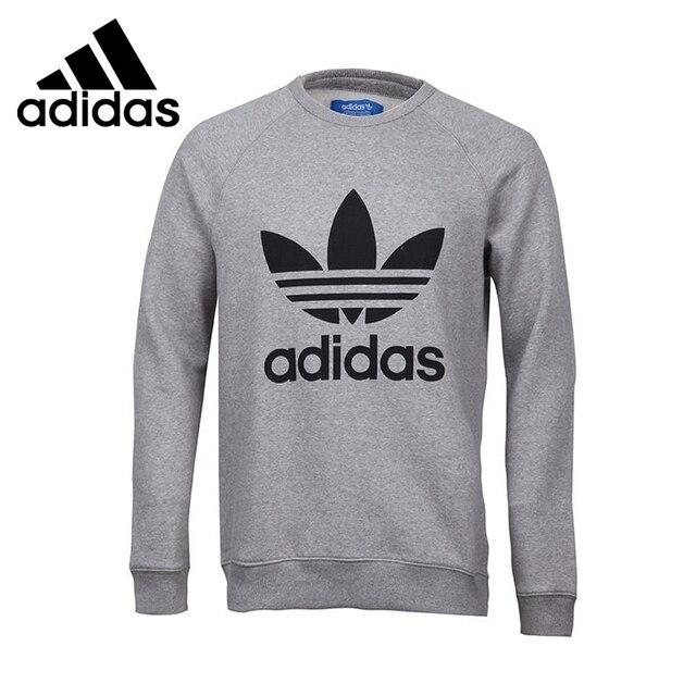 Original New Arrival Adidas Originals TREFOIL CREW Men s Pullover Jerseys  Sportswear 58d863493c2