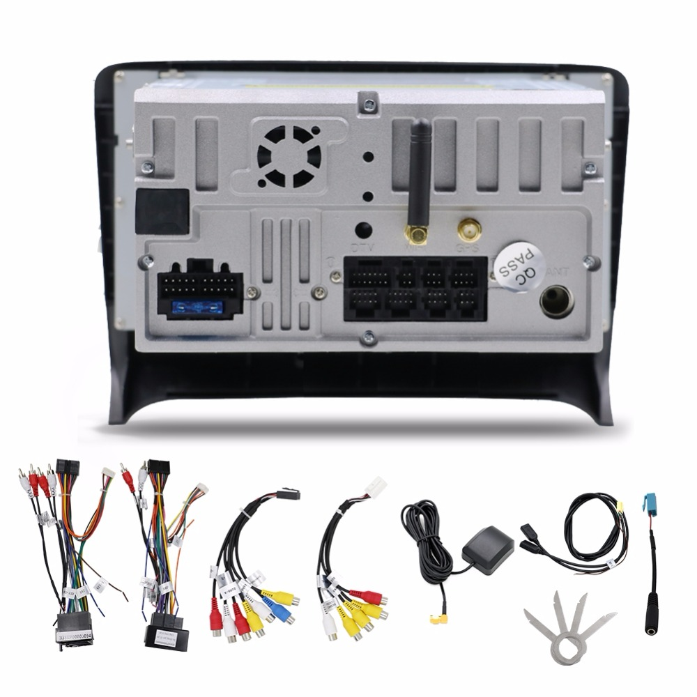 2 Din 7 quot Android 8 1 8 core For AUDI TT 2006 2011 Car Radio Android 7 1 quad core Car Multimedia Player Canbus Including in Car Multimedia Player from Automobiles amp Motorcycles
