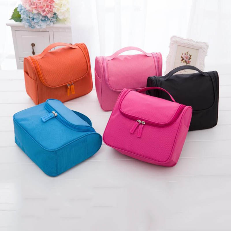 Multifunctional Cosmetic Bag Storage Bags For Women Outdoor Travel Make Up Organizers 5 Colors