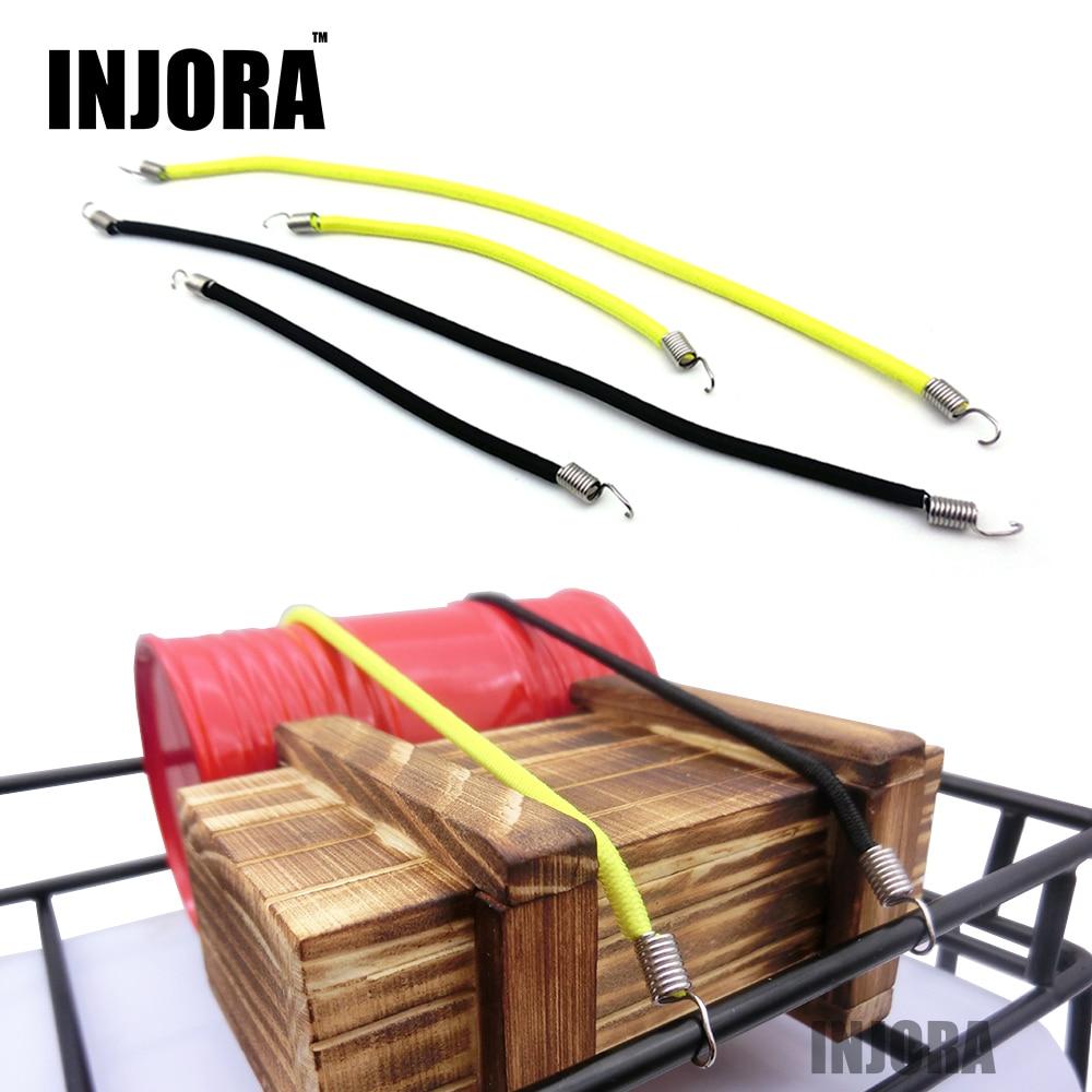 1:10 RC Rock Crawler Car Elastic Roof Rack Rope/ Luggage Cord For Axial SCX10 II 90046 Tamiya CC01 D90 D110 Traxxas TRX-4