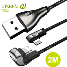 WSKEN USB Cable for iPhone Charger Cable XS MAX XR 8 7 Plus