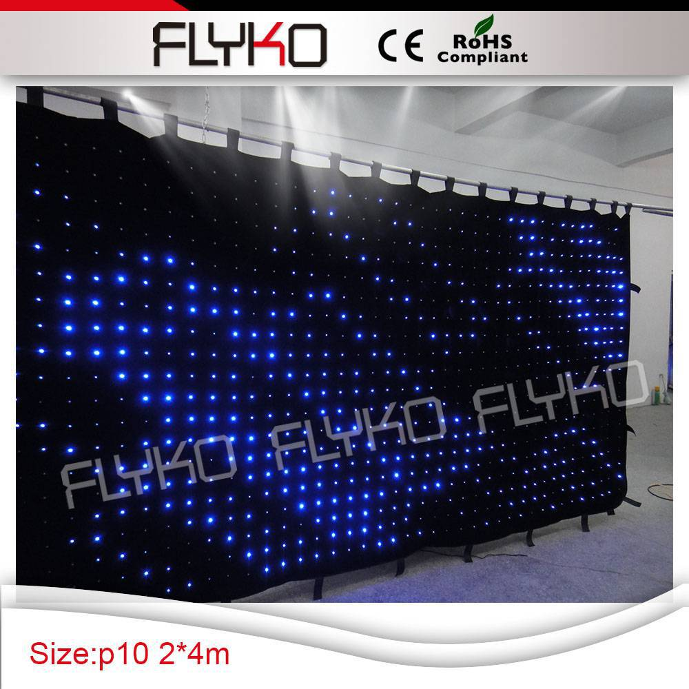 Led curtain concert - 4x2m Free Shipping Best Soft Led Curtain Screen For Concert Dj Stage Backdrops High Quality And Stable In Stage Lighting Effect From Lights Lighting
