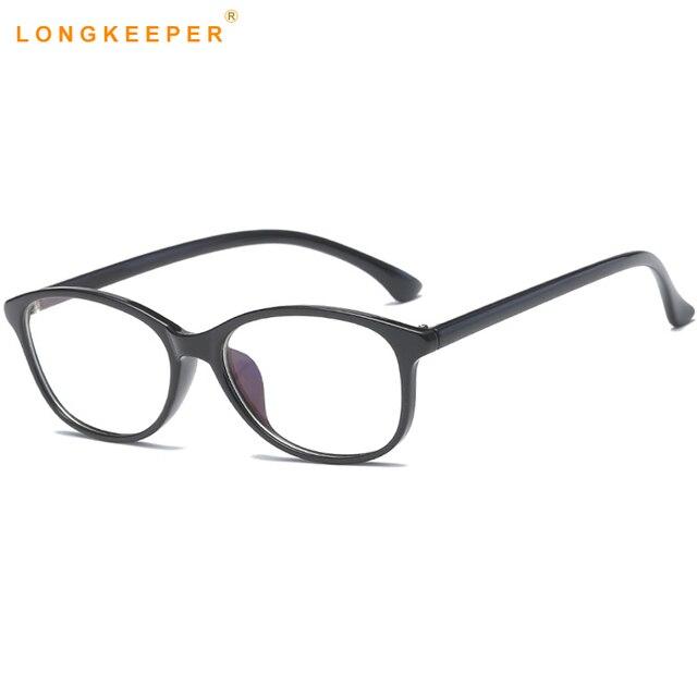 LongKeeper Ultra Light TR90 Mens Glasses Frame Men women Oval ...