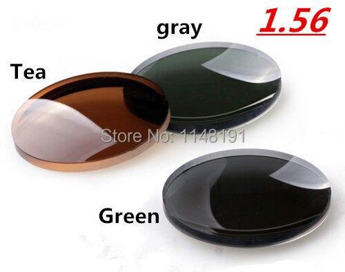 658f1415f33 HD 1.56 refractive index sun glass Gray. Tea. Black. Mild myopia men women.  US  20.76. Prescription 1.67 eyeglasses aspherical optical eye glasses lens  ...