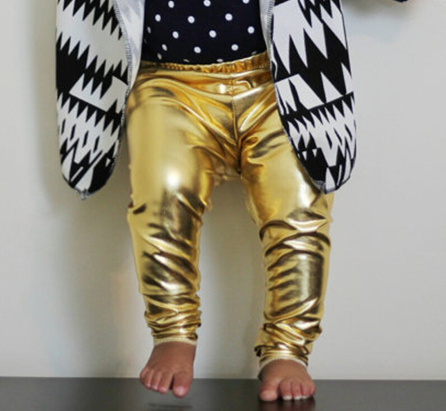80a64292bd87d4 Gold Metallic Kleinkind Leggings, säugling leggings unisex, jungen hosen,  baby mädchen leggings,