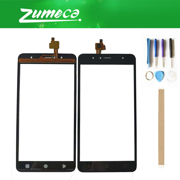 High Quality 5.5 Inch For Vertex Impress Baccara Versions Touch Screen Digitizer Touch Lens Glass Black Color With Tape&Tool