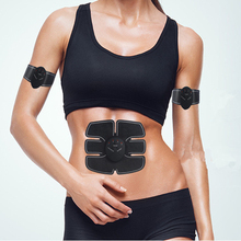 Smart EMS Electric Pulse Treatment Massager Abdominal Muscle Stimulator Exerciser Device Loss Weight Slimming Training Massager