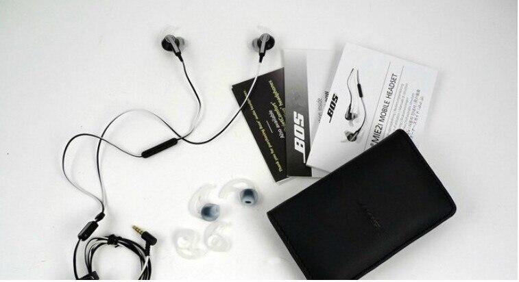 bilder für Freies verschiffen! mie2i ie2i sport kopfhörer stereo noise kopfhörer in-ohr mit mic 3,5mm headset für iphone ipad