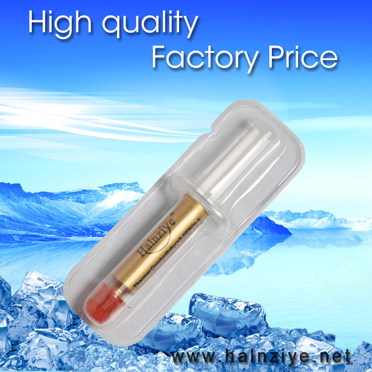 HY610 silicone thermal conductive grease heatsink thermal compound gold thermal paste for cpu and gpu cooling of free shipping