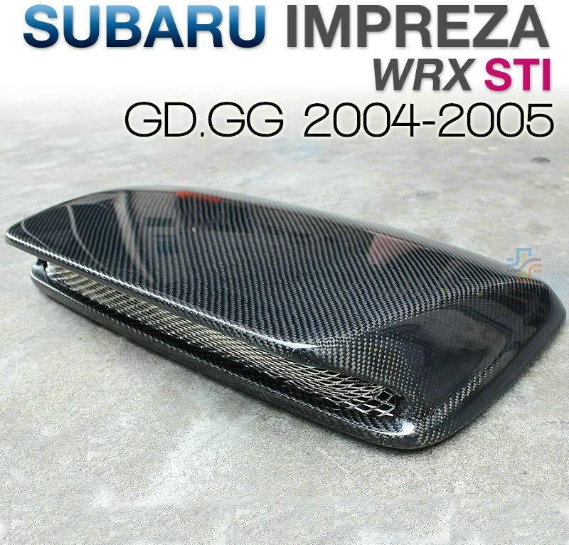 FRP Cover For 04-05 Subaru Impreza WRX STI 8th GD GDA GDB Front Bumper Corner