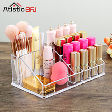 ФОТО Organizador  Sale  Acrylic Makeup Organizer Rangement Maquillage Crystal of Cosmetics Included In The of Home Storage