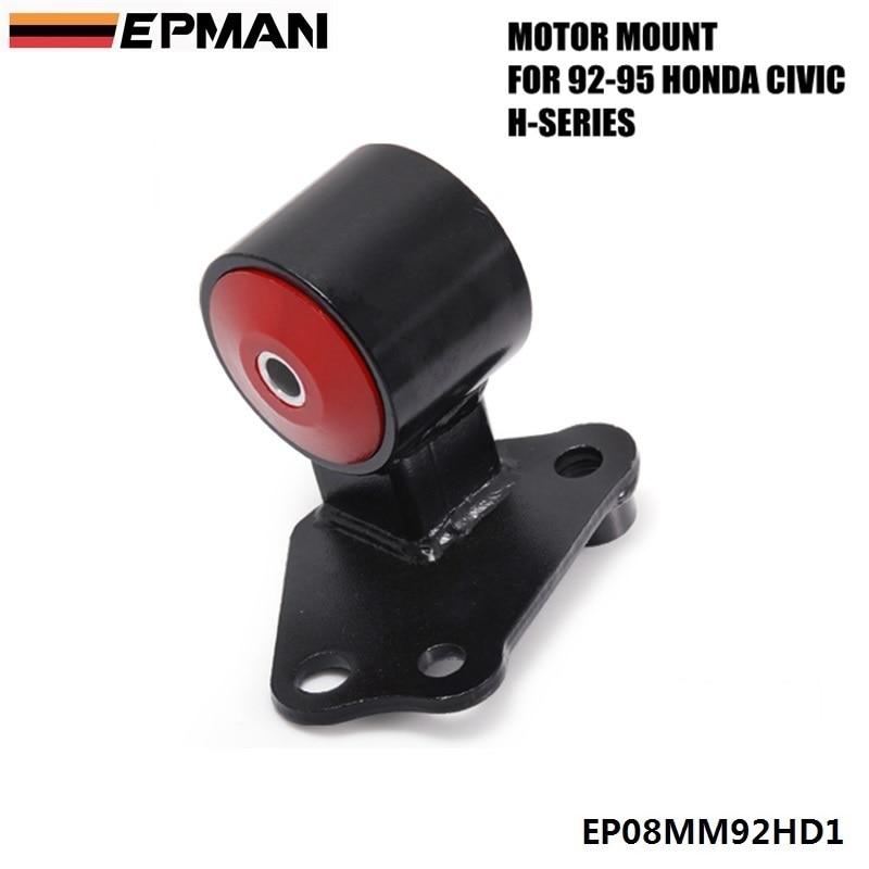 FOR 92-95 HONDA CIVIC EG EJ DELSOL AT TO MT TRANSMISSION CONVERSION MOTOR MOUNT RED EPMAN EP08MM92HD1