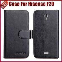 Горячая Продажа! Hisense F20 Дело Высокое Качество 6 Цвета Кожи Сальто Эксклюзивный Защитный Чехол Для Hisense F20 Случае