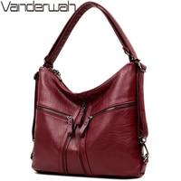 3 in 1 Multifunction Back Pack Leather Women Bag Female Shoulder Bags 2018 Designer Handbags High Quality Brands Big Tote Bag