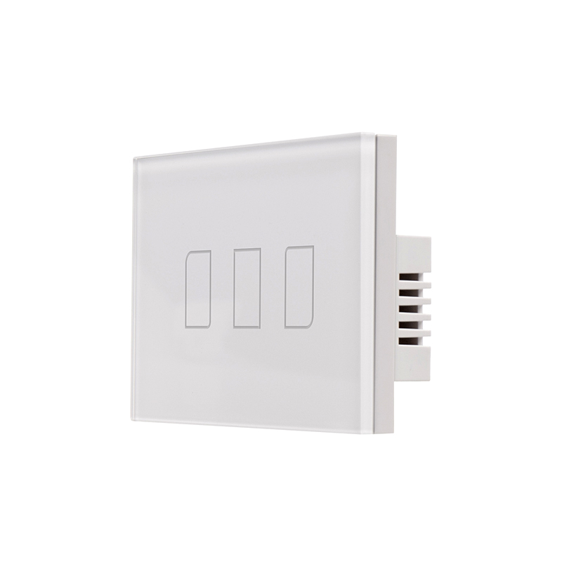 Broadlink TC2 US/AU/UK/EU 3Gang Switch,smart home Automation,Phone Remote wireless Wall light Touch Switch,Crystal Glass Panel smart home us au wall touch switch white crystal glass panel 1 gang 1 way power light wall touch switch used for led waterproof