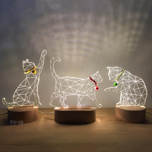 3D Novelty Lighting Acrylic Holiday Decorations For Home  House Of Novelty   Constellation Lamp  Led Furniture