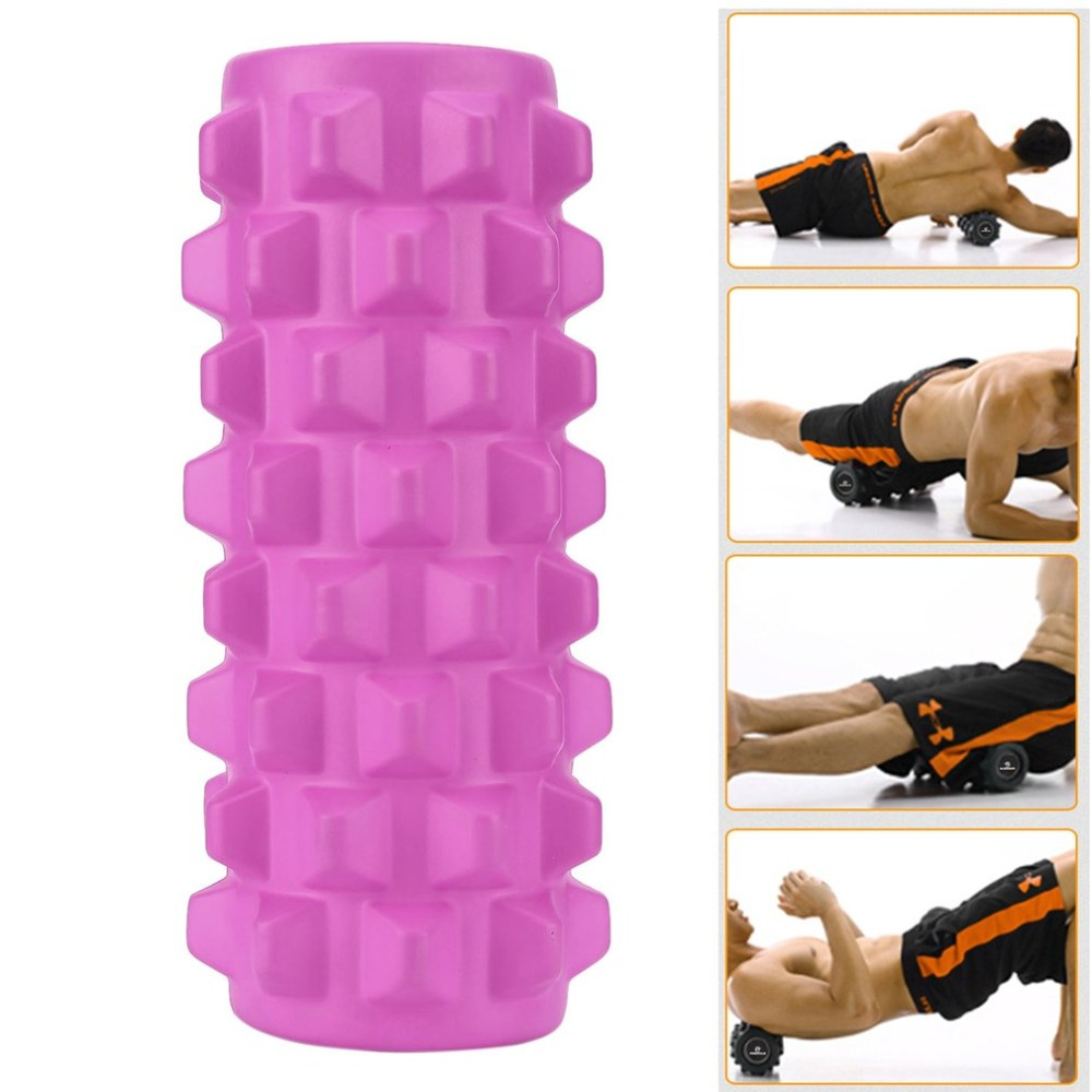 15x45 Durable Gym Fitness Exercise Massage slimming tool Pilates Foam Roller lose weight Column Massager Release Tight Muscles elite fitness massager roller stick trigger point muscle roller exercise therapy releasing tight body massage tool gym rolling