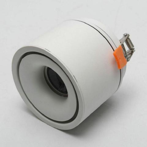 360 graus de rotacao levou rodada downlight 10 w ac110v 15 w aluminio 220 v