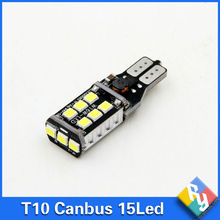 1pcs canbus led W16W LED CANBUS T15 15led 2835smd Chip LED High Power Light Bulbs Compatible with T10 W5W LED Bulbs Car styling