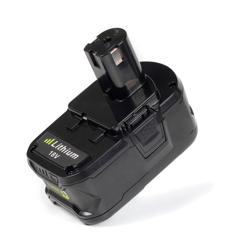 2 шт. ноутбука аккумулятор для Ryobi P108 RB18L40 Замена Powertools аккумулятор 18 В Высокая емкость 4000 мАч для Ryobi ONE + p2000 P310