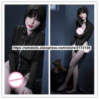 WMDOLL 166 cm pełne silikonowe lalki miłości realistyczne lalki Sex