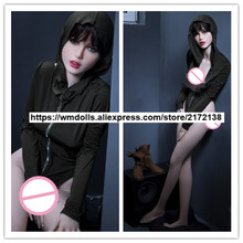 WMDOLL 166cm Full Body Silicone love  Doll  Realistic  Sex Dolls