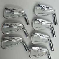 Утюги для гольфа клюшки для гольфа HONMA В 727 в железная группа 4 10 Вт (7 шт.) Стальные ручка клюшки для гольфа и гольф голова Бесплатная доставка